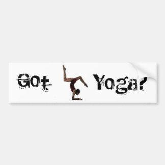 Yoga Bumper Sticker