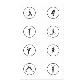 Yoga Business Card 8 Class Pass