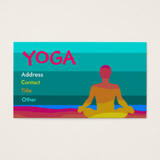 Yoga Business Card - Customized