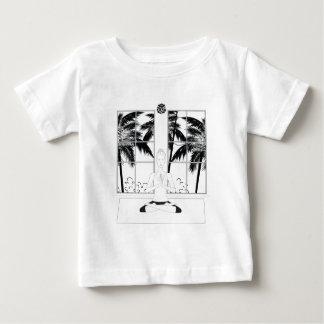 Yoga BW Baby T-Shirt