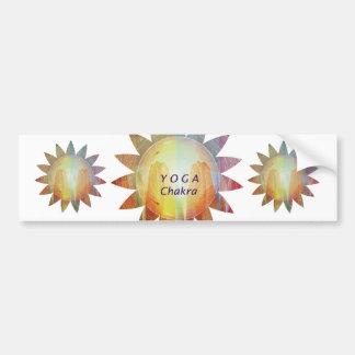 Yoga Chakra Bumper Sticker