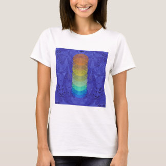 Yoga Chakra Healing Design T-Shirt