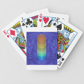 Yoga Chakra Tapestry Design Bicycle Playing Cards