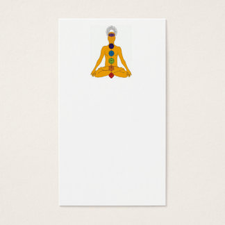 yoga chakras business card