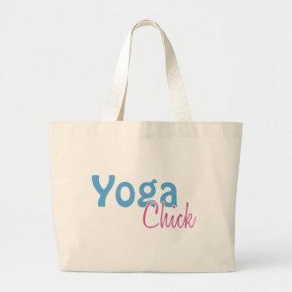 Yoga Chick Large Tote Bag
