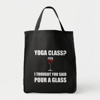 Yoga Class Glass