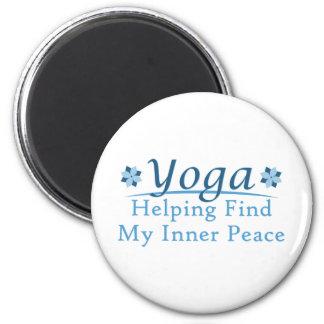 Yoga Design 2 Inch Round Magnet
