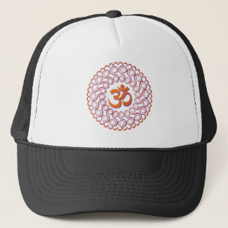 Yoga Design / Om Motif 2 Trucker Hat