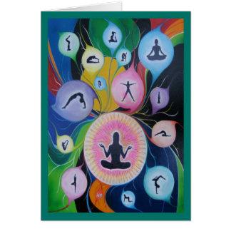 yoga dreaming card