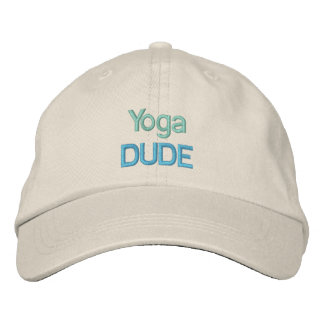 YOGA DUDE cap Embroidered Hat