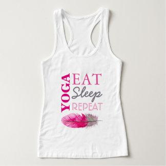 Yoga Eat Sleep Repeat Tank Top