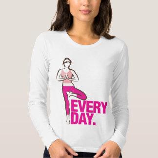 Yoga Everyday. T Shirts