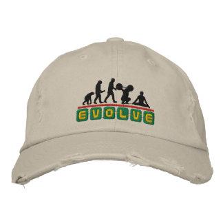 Yoga Evolve Embroidered Men's Cap Embroidered Baseball Cap