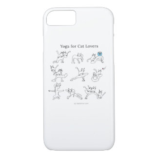 Yoga for cat lovers iPhone 7 case