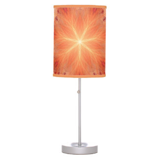 Yoga fractal table lamp
