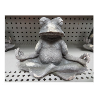 Yoga Frog Postcard