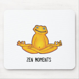 Yoga Frog - Zen Moments Mousepad