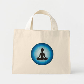 Yoga Girl Mini Tote Bag
