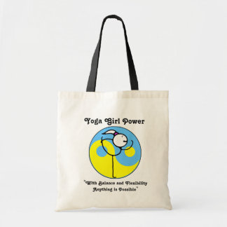Yoga Girl Power Logo Bag