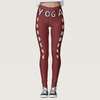 Yoga Goddess - Praises and Boosts Your Booty!! Leggings