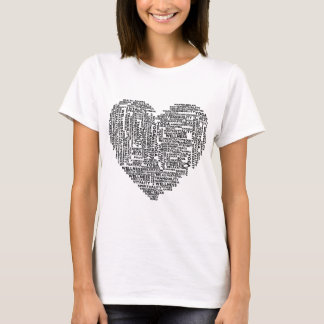 Yoga heart T-Shirt