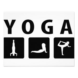 yoga icon invitation