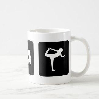 yoga icons coffee mugs