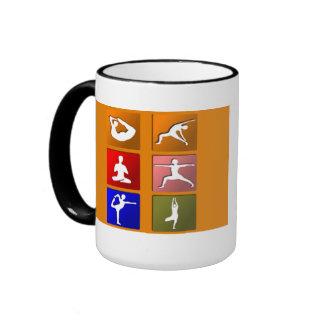 Yoga Icons Mug
