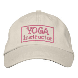 Yoga Instructor Embroidered Hat