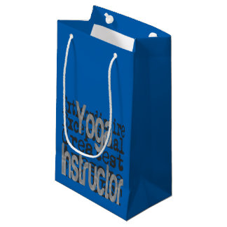 Yoga Instructor Extraordinaire Small Gift Bag
