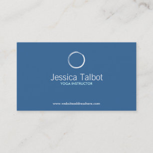 Trainer business cards business card printing zazzle ca yoga instructor fitness trainer business card colourmoves