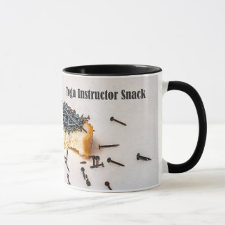 Yoga instructor snack mug