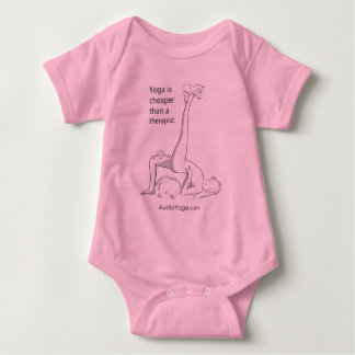 Yoga is Cheaper Than a Therapist Baby Bodysuit