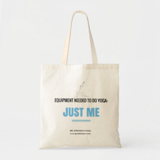 """""""Yoga is for Everyone"""" - Jen Atkinson Tote Bag"""