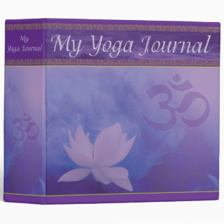 Yoga Journal Binder
