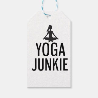 Yoga Junkie Gift Tags