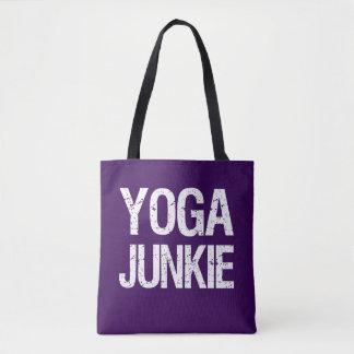 Yoga Junkie women's tote bag