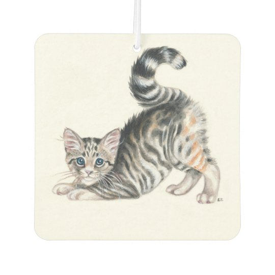 yoga kitten air freshener