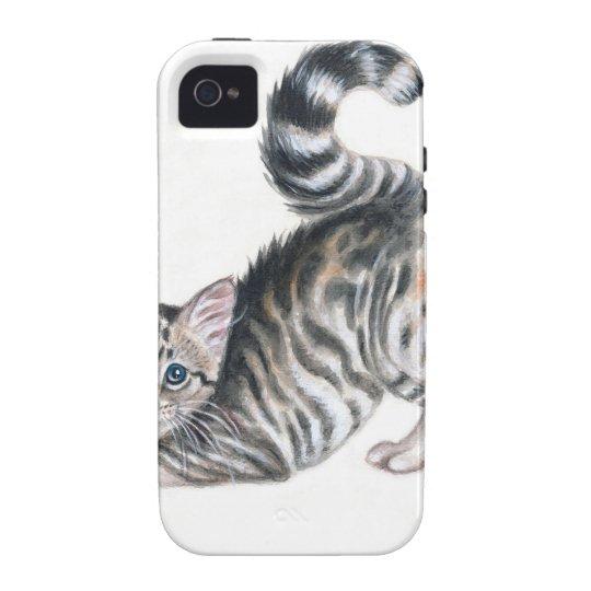 yoga kitten Case-Mate iPhone 4 case
