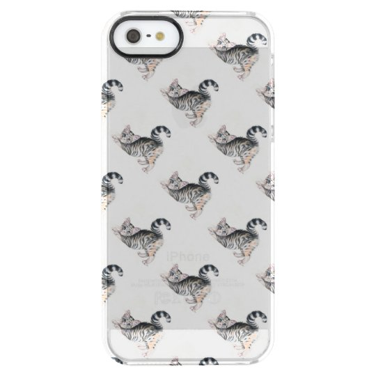 yoga kitten clear iPhone SE/5/5s case
