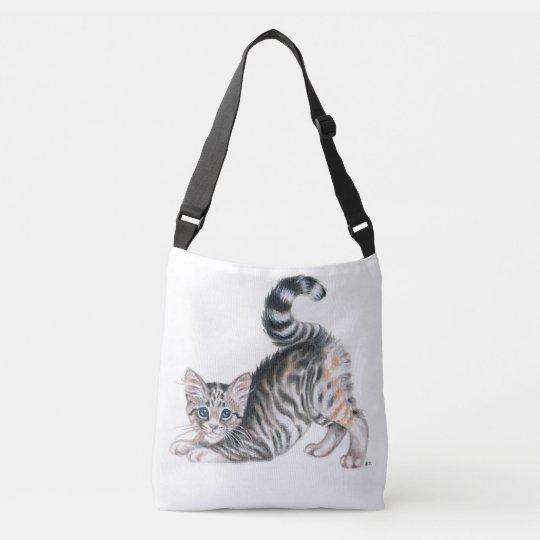 yoga kitten crossbody bag