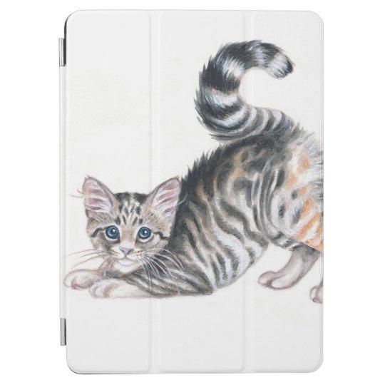 yoga kitten iPad air cover