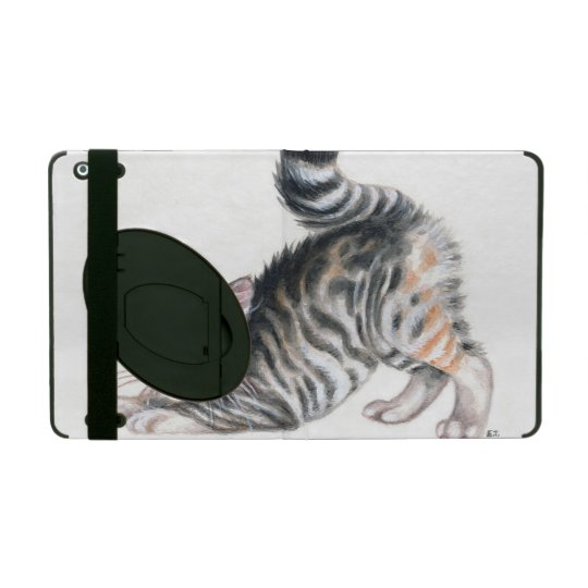 yoga kitten iPad cover