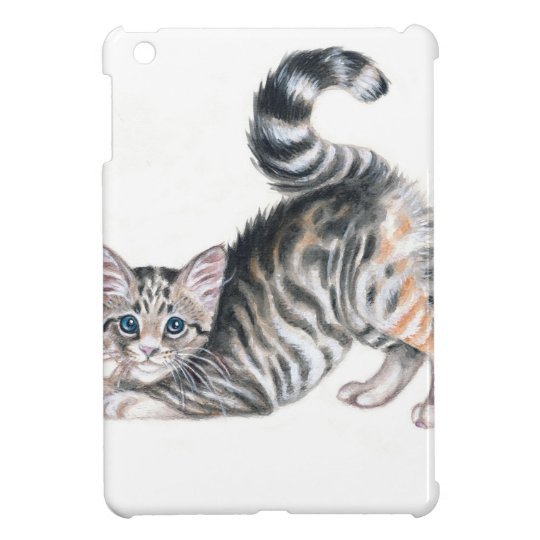 yoga kitten iPad mini case