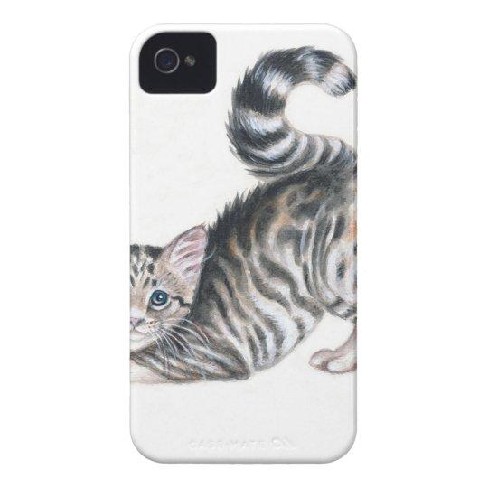 yoga kitten iPhone 4 cover