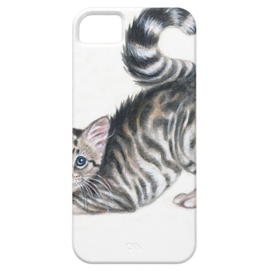 yoga kitten iPhone 5 cases