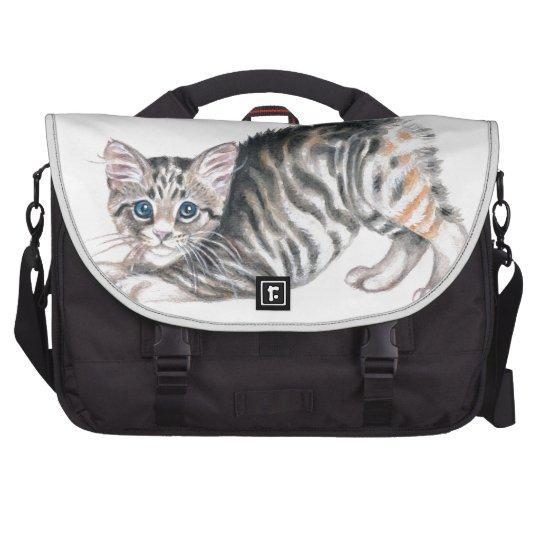 yoga kitten laptop bag