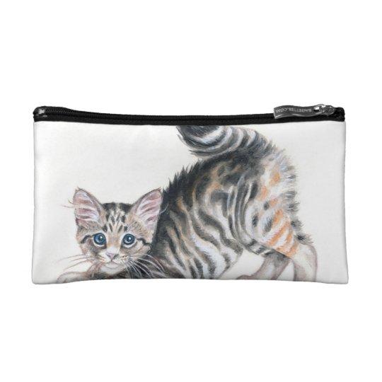yoga kitten makeup bag