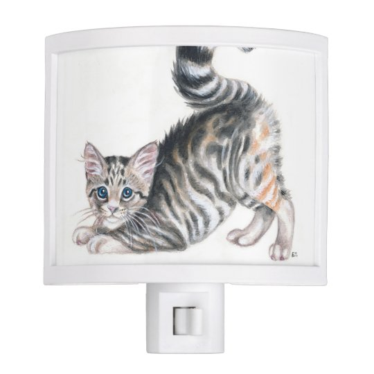 yoga kitten night lights