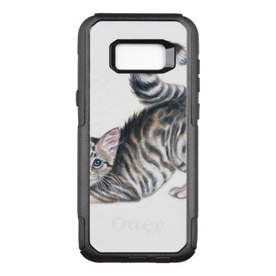 yoga kitten OtterBox commuter samsung galaxy s8+ case